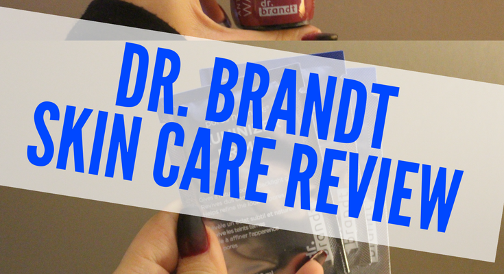 Dr. Brandt Influenster VoxBox Skin Care Hits and Misses