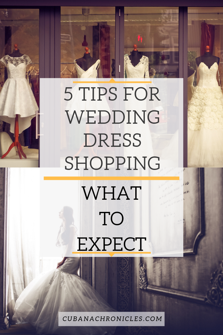 What To Expect Wedding Dress Shopping | 5 Tips