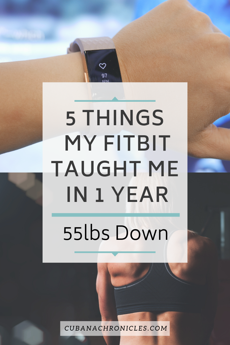 What My FitBit Taught Me In 1 Year